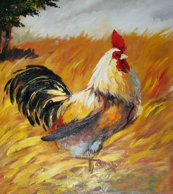 Oil Paintings Animals Paintings Sample d08a009