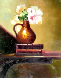 Still Life Paintings d08e004-24x30