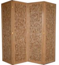 Wood Folding Screen d08f019