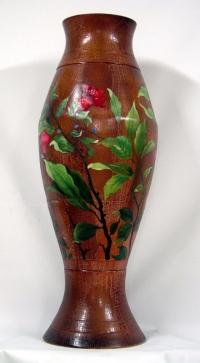 Wood Vases d08j006-12x32