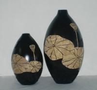 Wood Vases d08j007