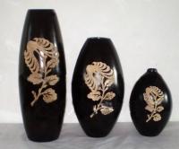 Wood Vases d08j008
