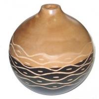 Wood Vases d08j010