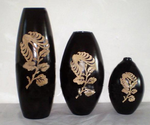 Wood Vases Sample d08j008